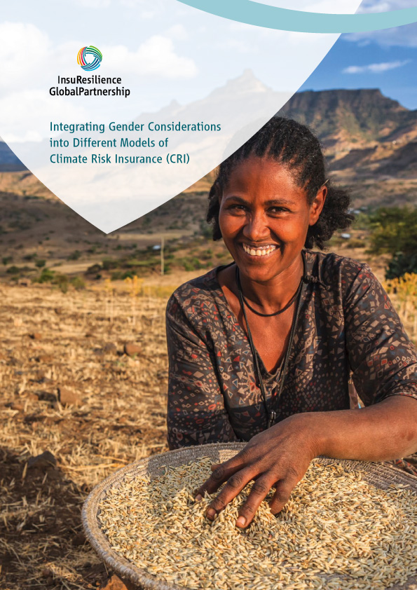 Integrating Gender Considerations into Different Models of Climate Risk Insurance (CRI)