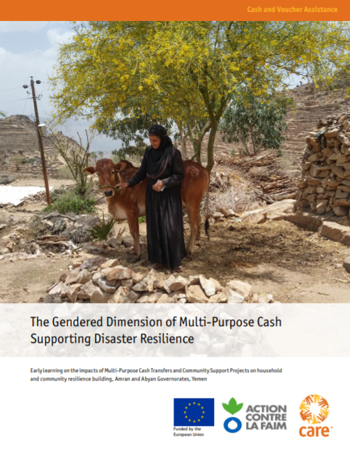 The Gendered Dimension of Multi-Purpose Cash Supporting Disaster Resilience in Yemen