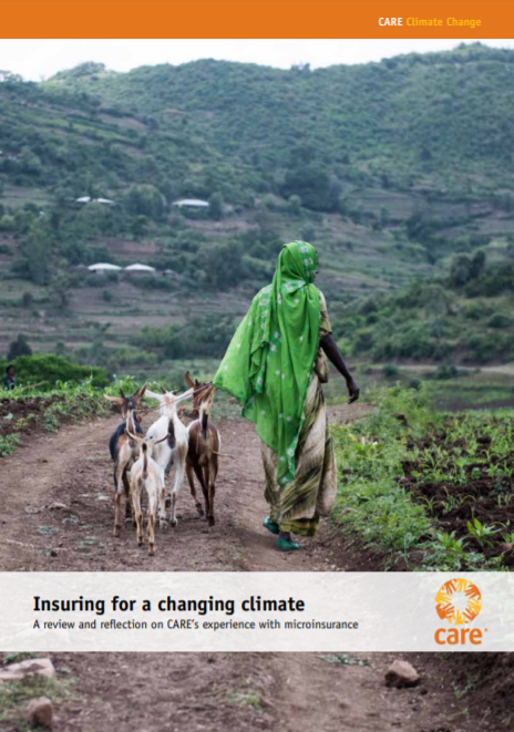 Insuring for a Changing Climate: A review and reflection on CARE's experience with microinsurance