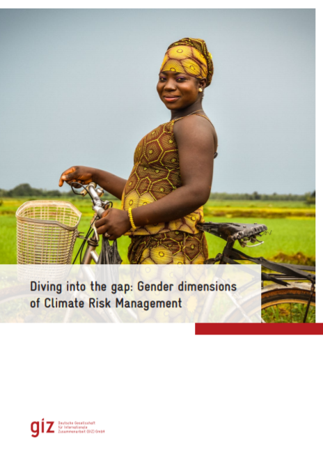 Diving into the gap: Gender dimensions of Climate Risk Management