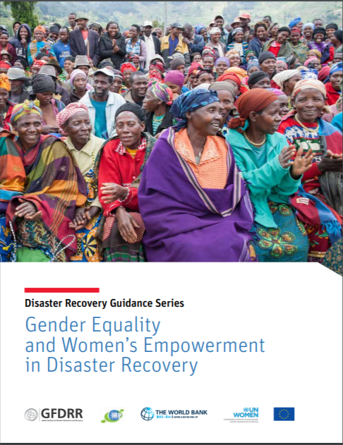 Guidance Note: A gender-responsive approach to disaster risk reduction (DRR) planning in the agriculture sector
