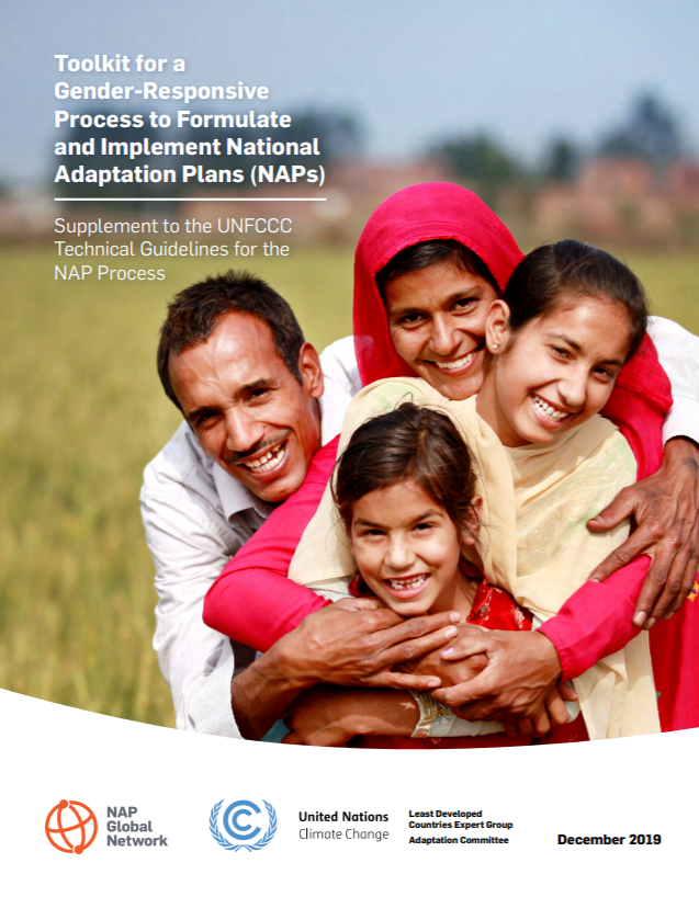 Toolkit for a Gender-Responsive Process to Formulate and Implement National Adaptation Plans (NAPs)