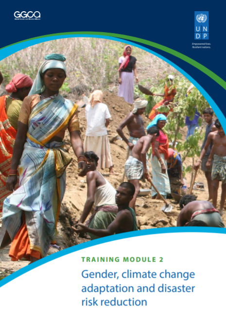 Gender, climate change adaptation and disaster risk reduction (Training Module 2)